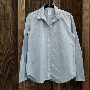GAP Womens Fitted Button Up